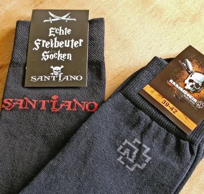 Rammstein Socken, Santiano Socken
